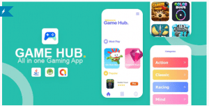 Game Hub v1.0 - All in one game app Nullled