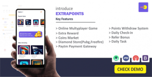 Extrapoints – Online Multyplayer Android App (Earning App)